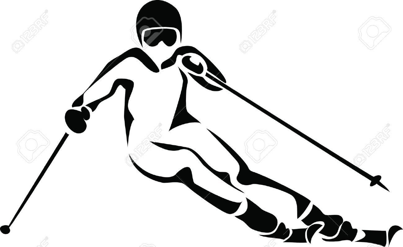 Pin By Romana Holusova On Ski Skiing Clip Art Royalty Free Images