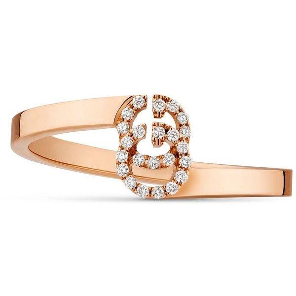 Gucci 18-karat Gold Diamond Ring avz0o