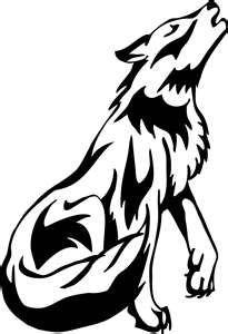 d8715b5dd Animals   animals   Cute wolf drawings, Wolf howling, Wolf howling ...