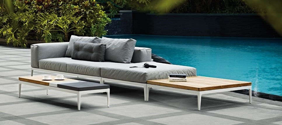 exterior furniture | gloster furniture | furniture pieces, Gartenarbeit ideen