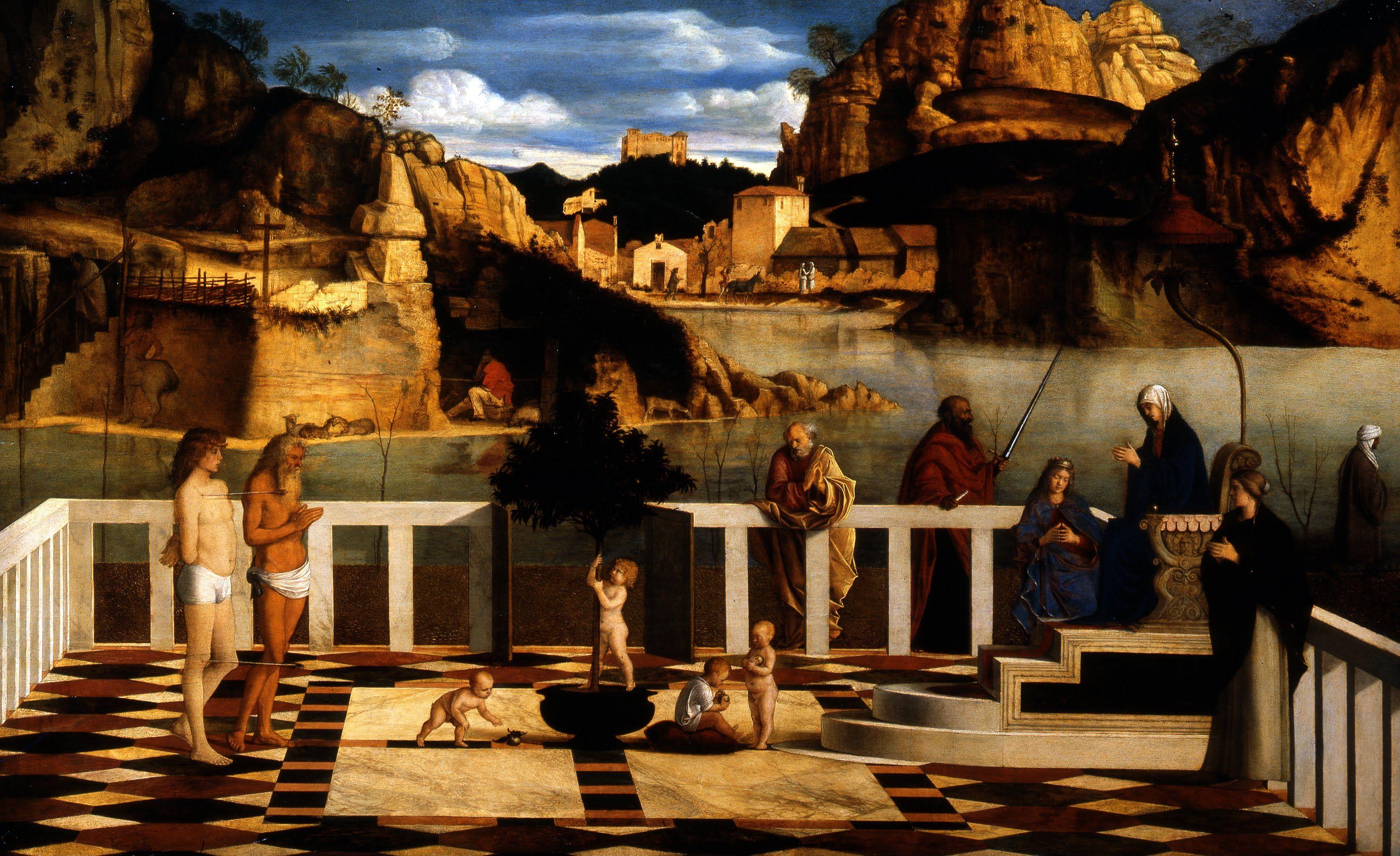 Sacred Allegory Giovanni Bellini