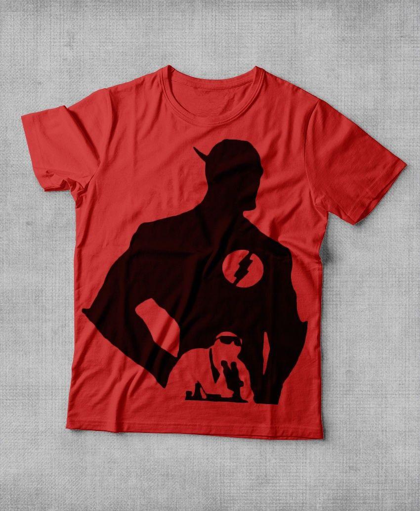 Camiseta The Flash - Sombra Camiseta The Flash - Sombra R 34,90 - Camiseta de063c076a