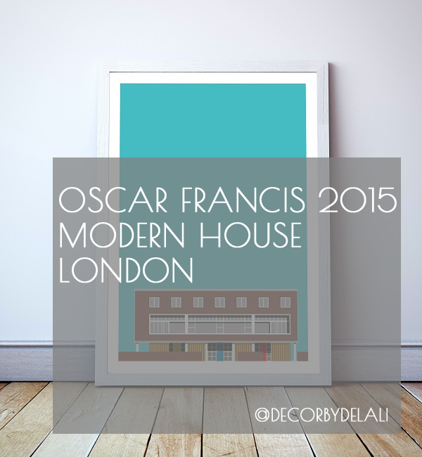 Architecture and homewares = big love. @ofhome Modern House London collection on the blog... Oscar Francis