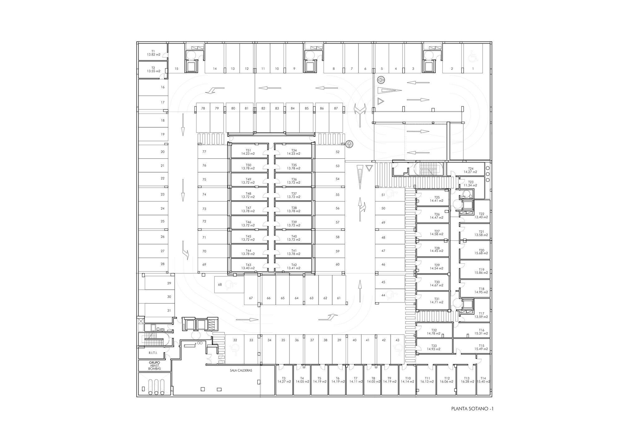 Gallery - 27 Dwellings in Pamplona / Tabuenca Saralegui - 27