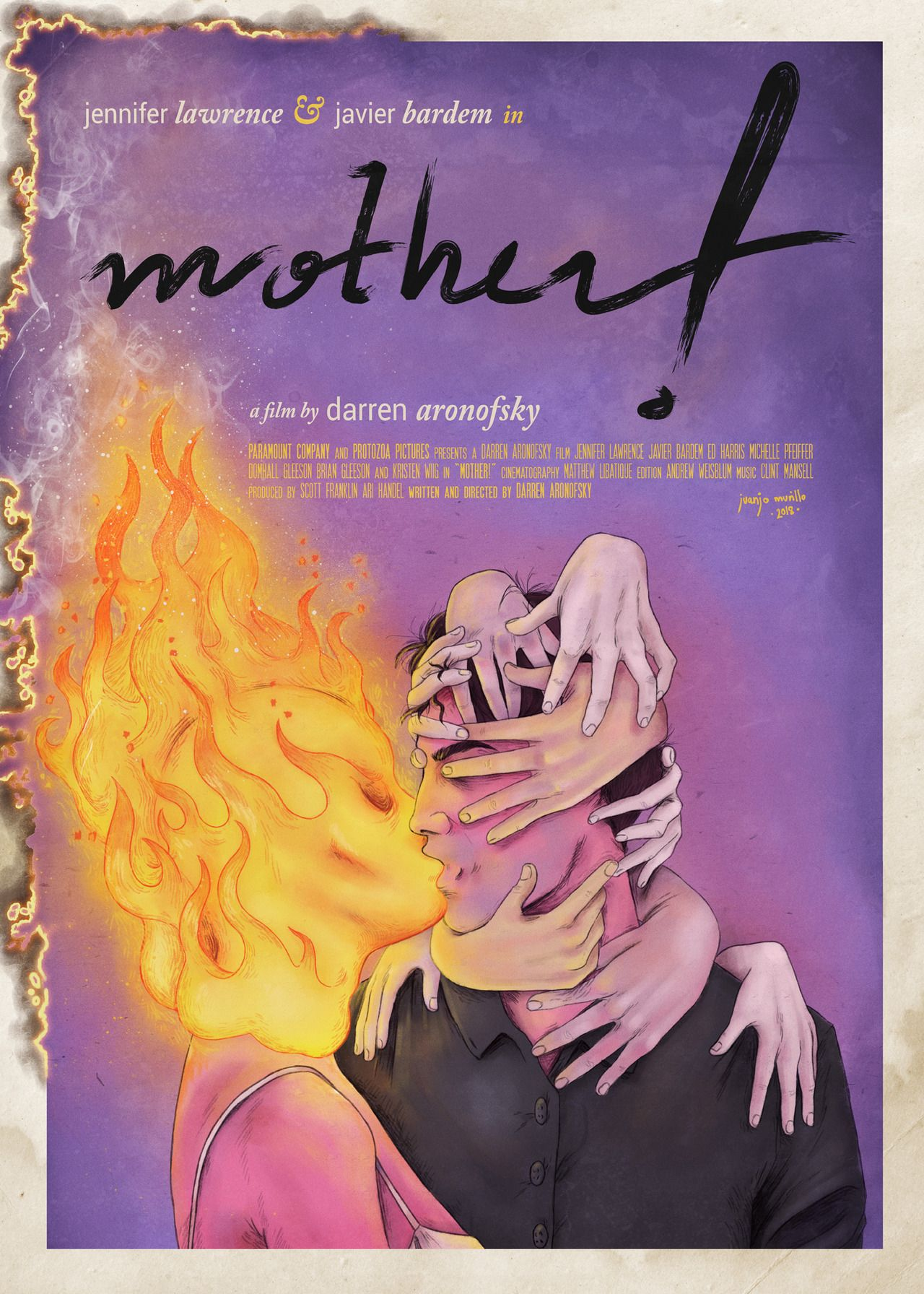Mother Darren Aronofsky 2017 You Can Buy In Redbubble Or Check The Process And Details On Instagram Film Posters Art Movie Poster Art Best Movie Posters