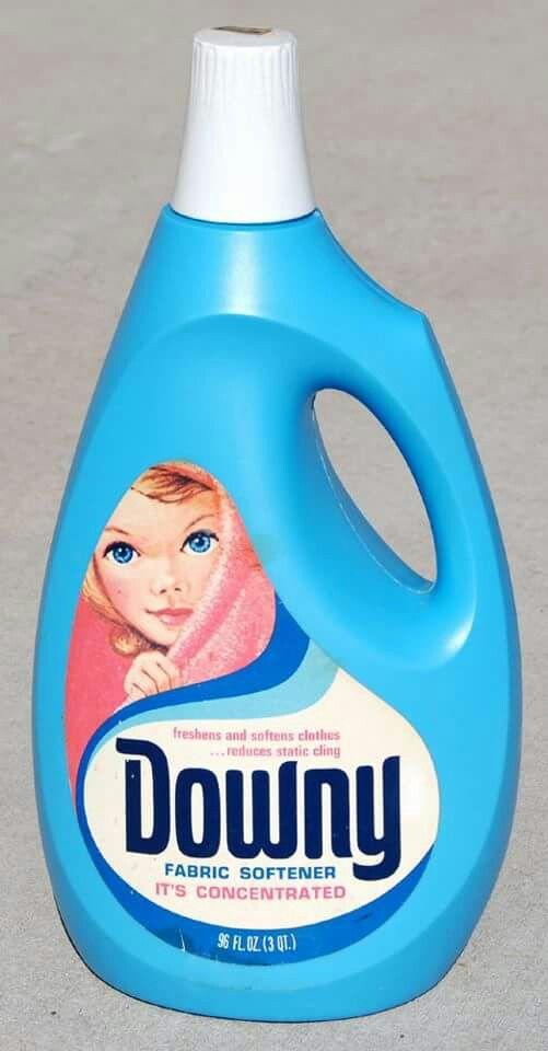 Downy Fabric Softener Extra Large Size Downy Fabric Softener Vintage Packaging Vintage Laundry