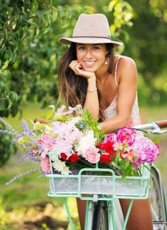 Flowers are ever ready to bloom in 2020 | Bike photoshoot