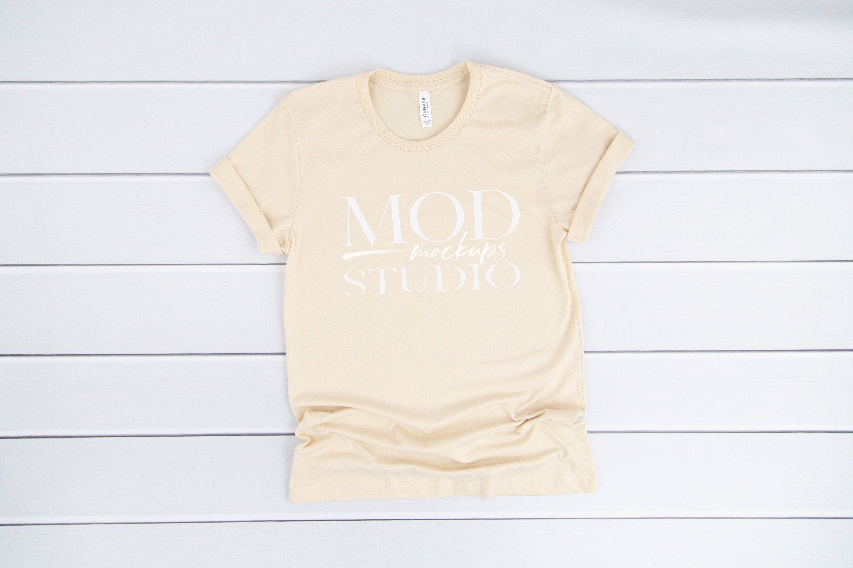 Download Mockup Tshirt Soft Cream Shirt Mockup Women Tshirt Mockup Tee Mockup Clothing Mockups Digital Mock Up Shirt Tshirt Flat Lay Mockup Clothing Mockup Shirt Mockup Clothes