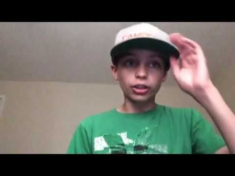 This Is My 13 Year Old Son Kael He Has A Youtube Channel And
