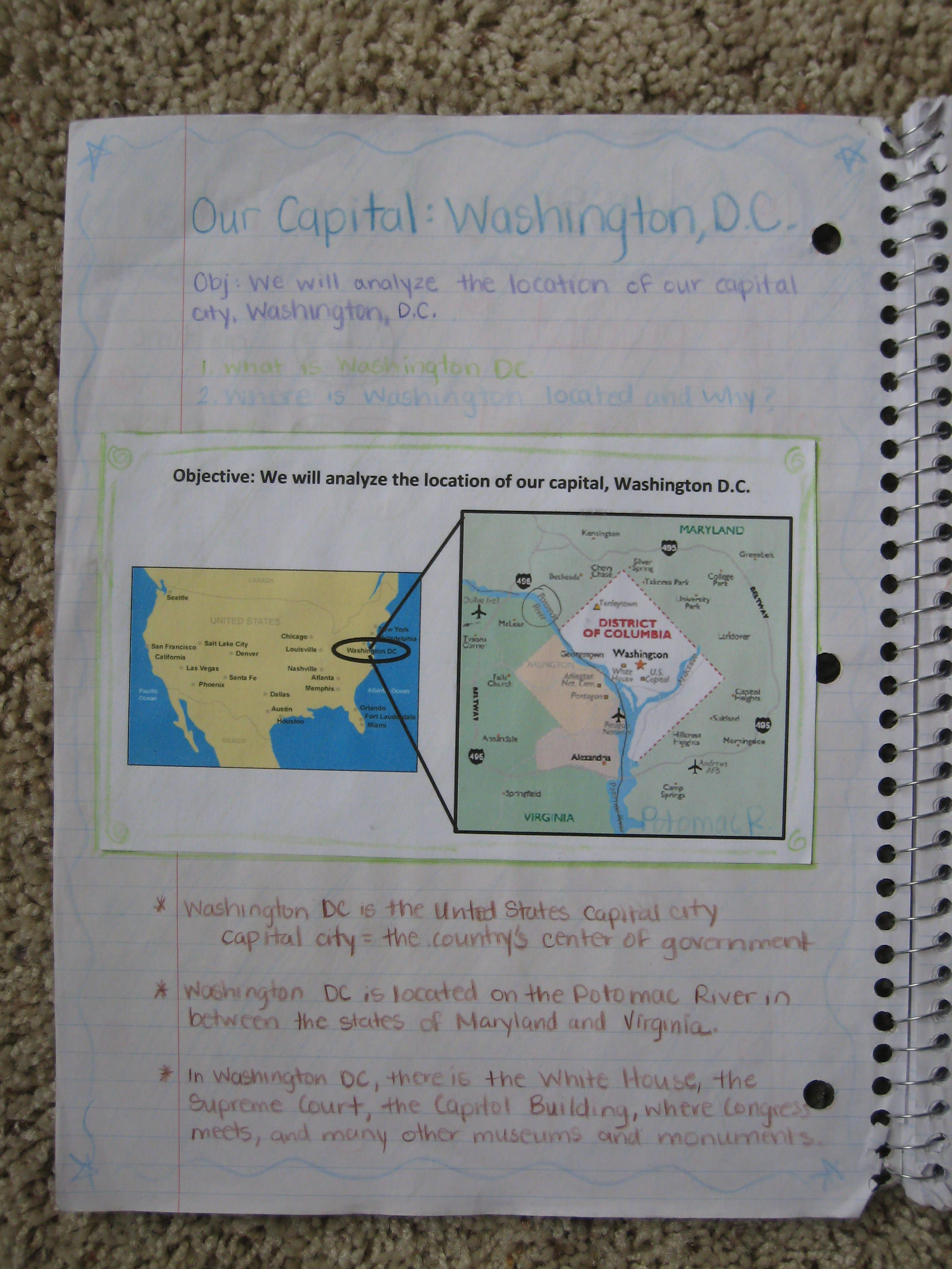 5th Grade Interactive Notebook For Social Stu S I Am Definitely Doing This Next School Year