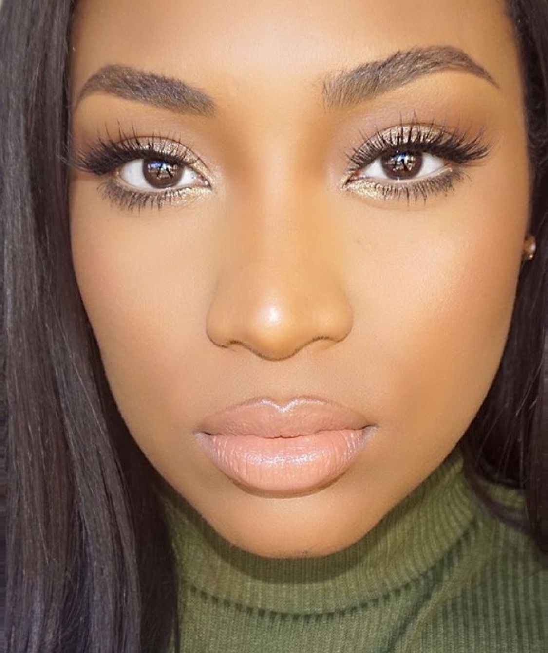 Makeup for black women … Brown skin makeup, Makeup for