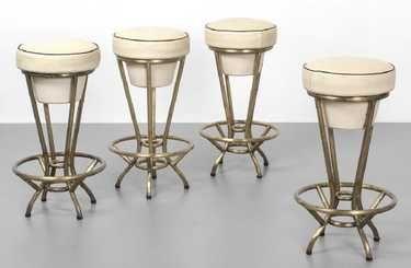 Quattro sgabelli bar anni ottone on in new objects