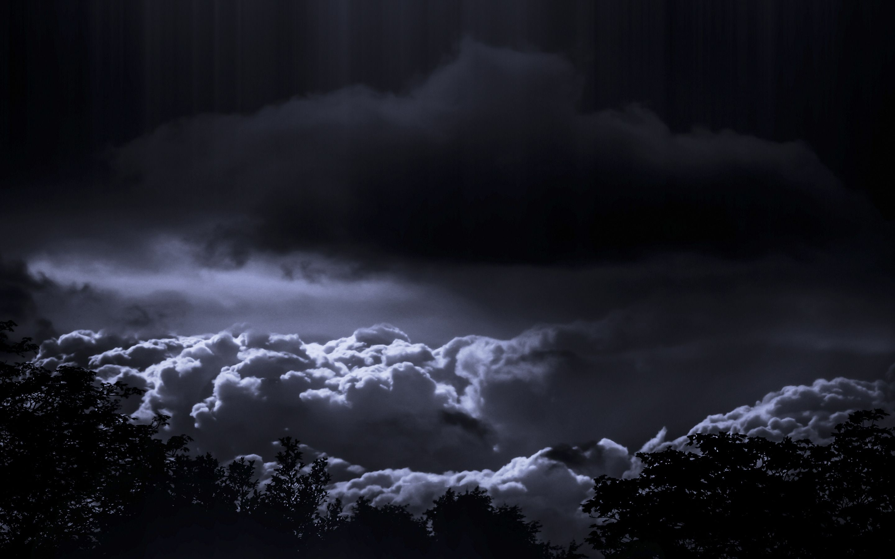 dark storm clouds hd