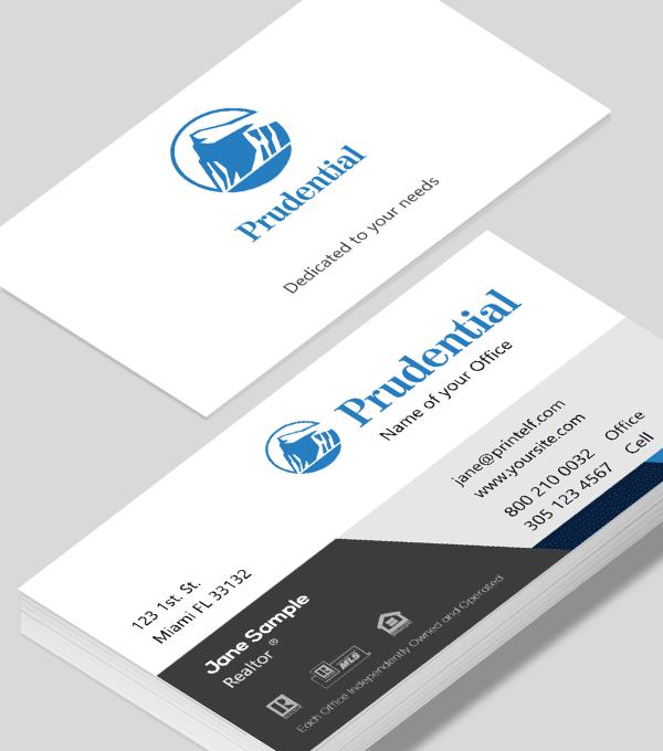 Prudential Classic Business Card Modern Design Modern Business Cards Design Classic Business Card Business Card Modern