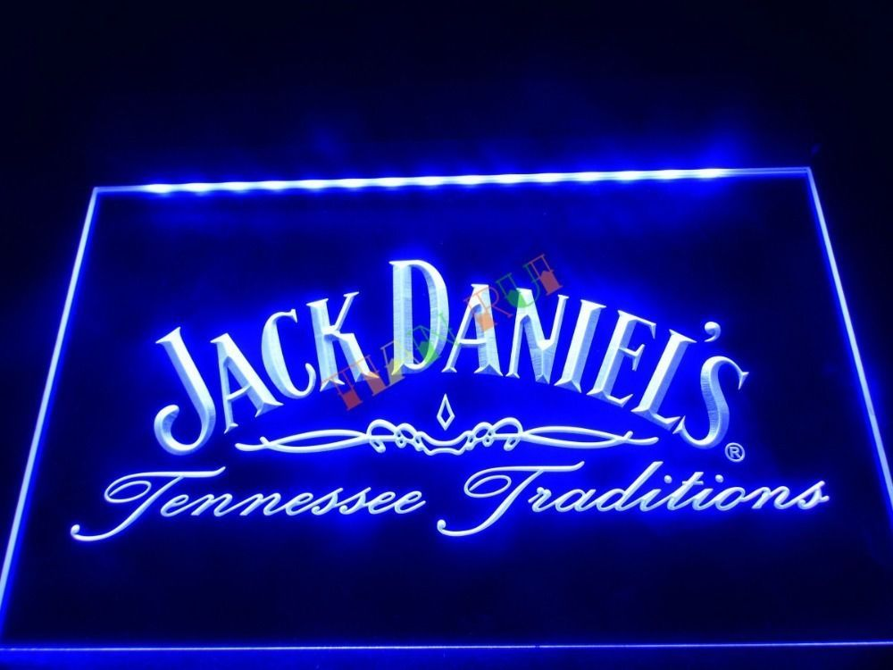 Led Sign Home Decor Captivating Daniels Led Neon Light Sign Bar Beer Home Decor Man Cave Design Inspiration