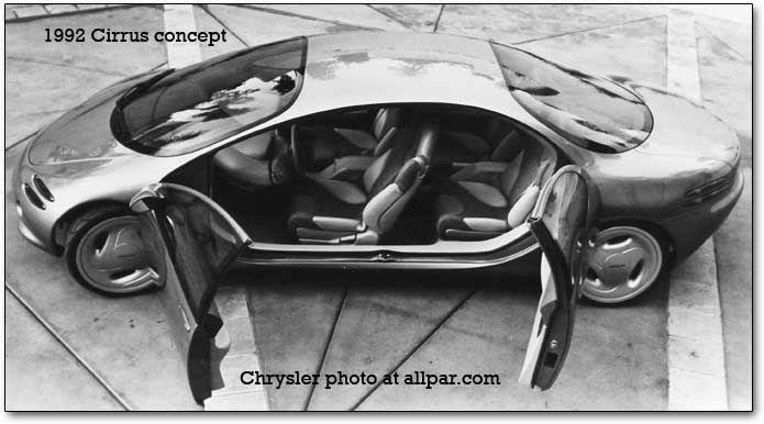 Resultado de imagen para Chrysler Cirrus Concept