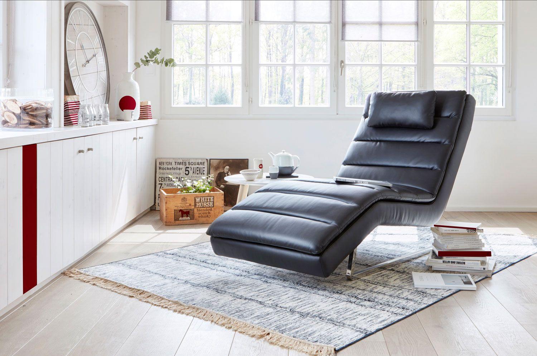 chaise longue PEACE Simili noir - Fauteuils BUT   Fauteuil pas cher ...
