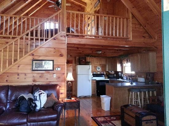 rustic cabins   Bearly Rustic Cabin Rentals (Townsend, TN) - Campground Reviews ...