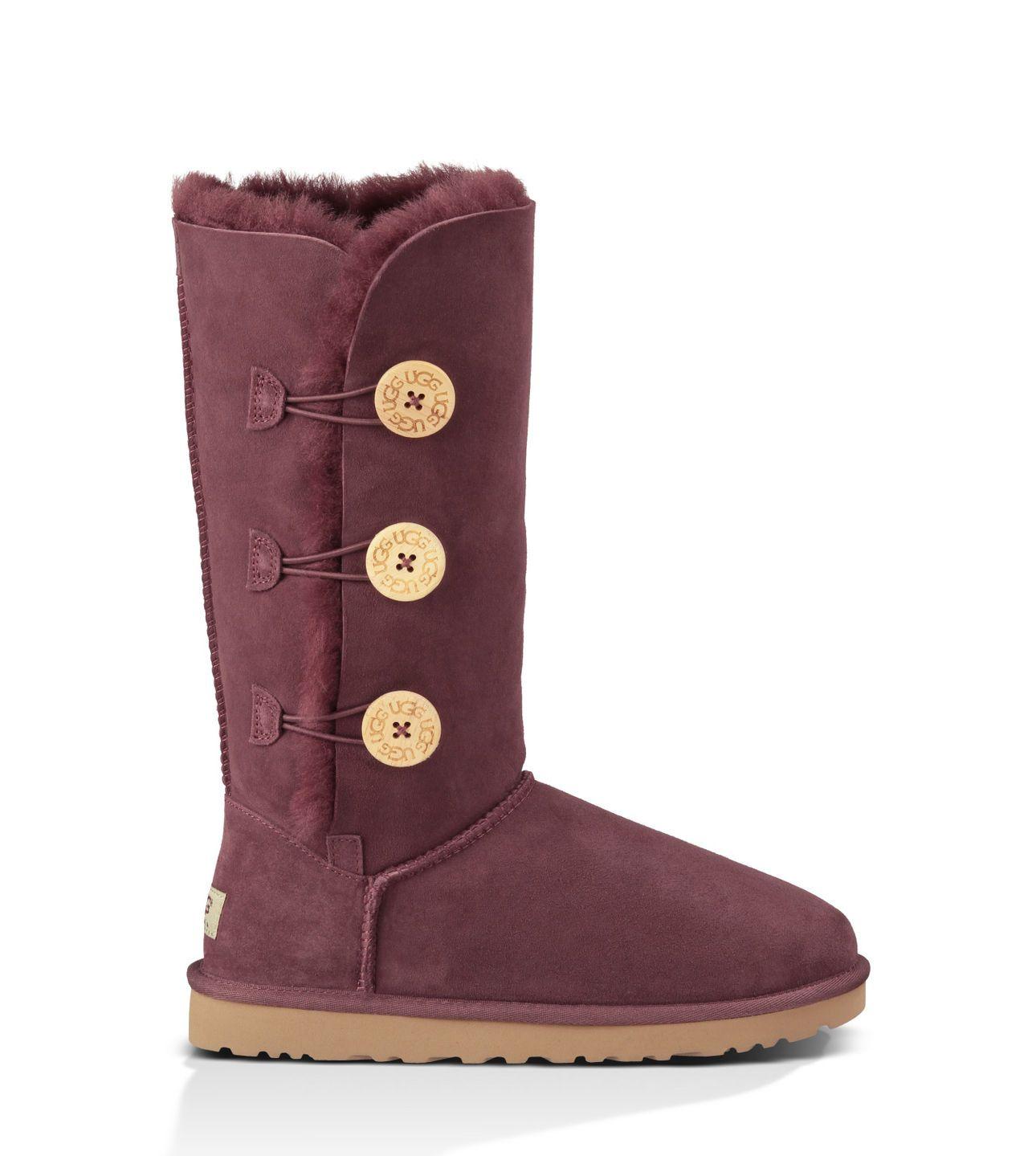 59242a58c45 denmark ugg bailey button triplet womens boots black head 73b1a 78424