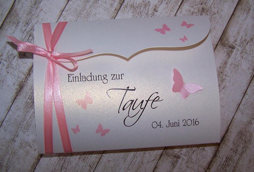 Einladung Zur Taufe Rosa Einladung Taufe Karte Hochzeit