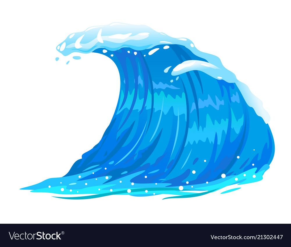 38+ Waves ocean clipart images ideas in 2021