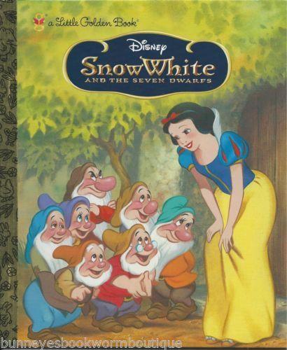 Snow White And The Seven Dwarfs Little Golden Book New Vintage Art Walt Disney Blancanieves Y Los Siete Enanitos Los Siete Enanitos Blancanieves