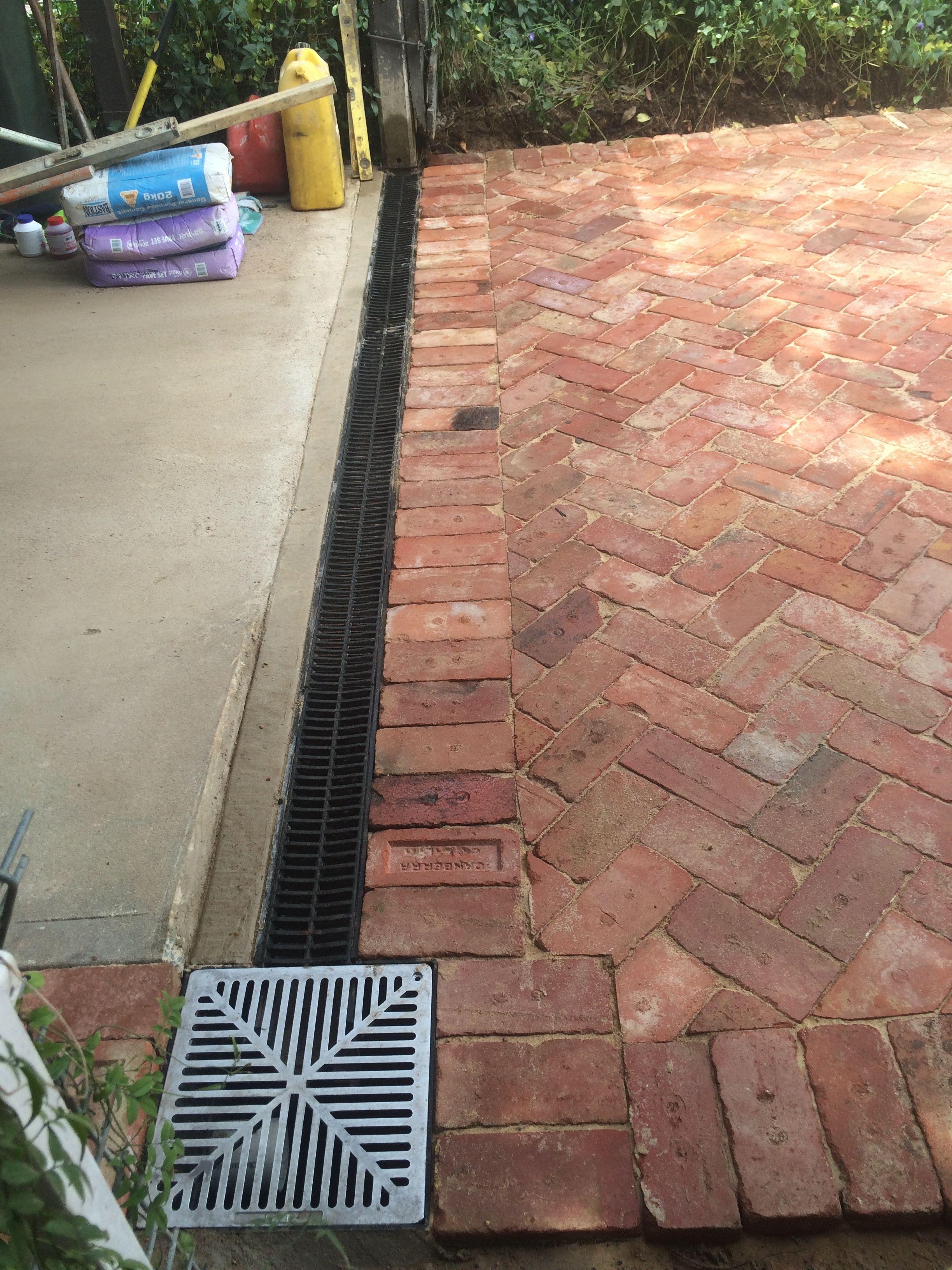 Recycled Canberra Red Brick Driveway Brick Driveway Brick