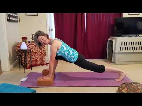 try this 14 minute hatha yoga beginner sequence with me