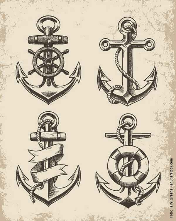 Tattoo Anker Google Zoeken Anker Tattoo Vorlage 7