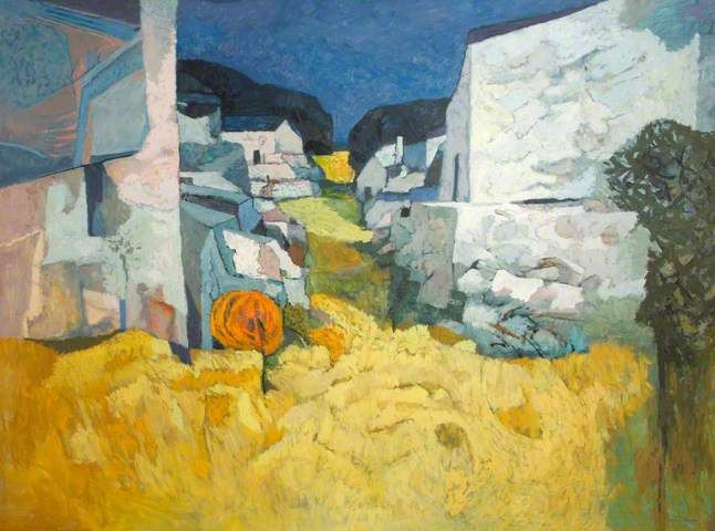 John Elwyn Continental Landscape Painting Art Uk Art