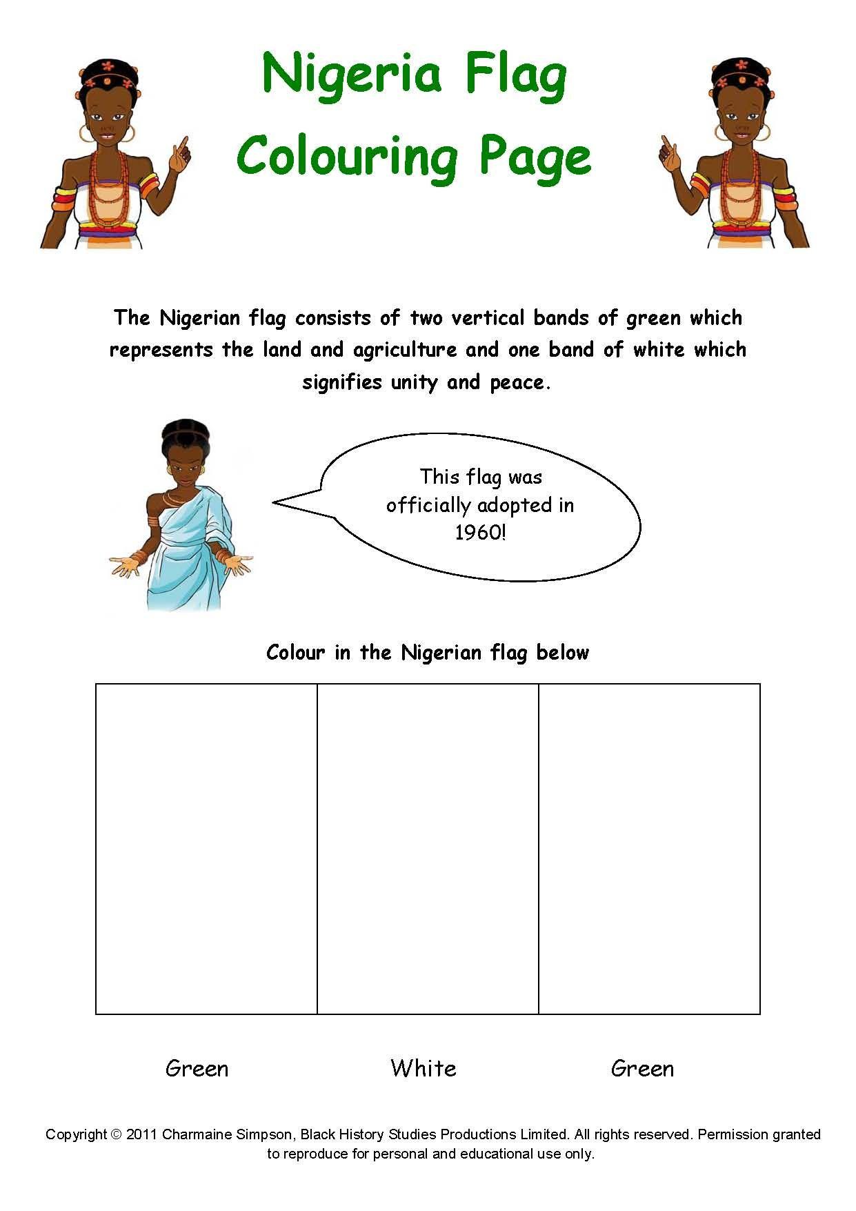 Bilikisu Sungbo Coloring Page Black History Stu S