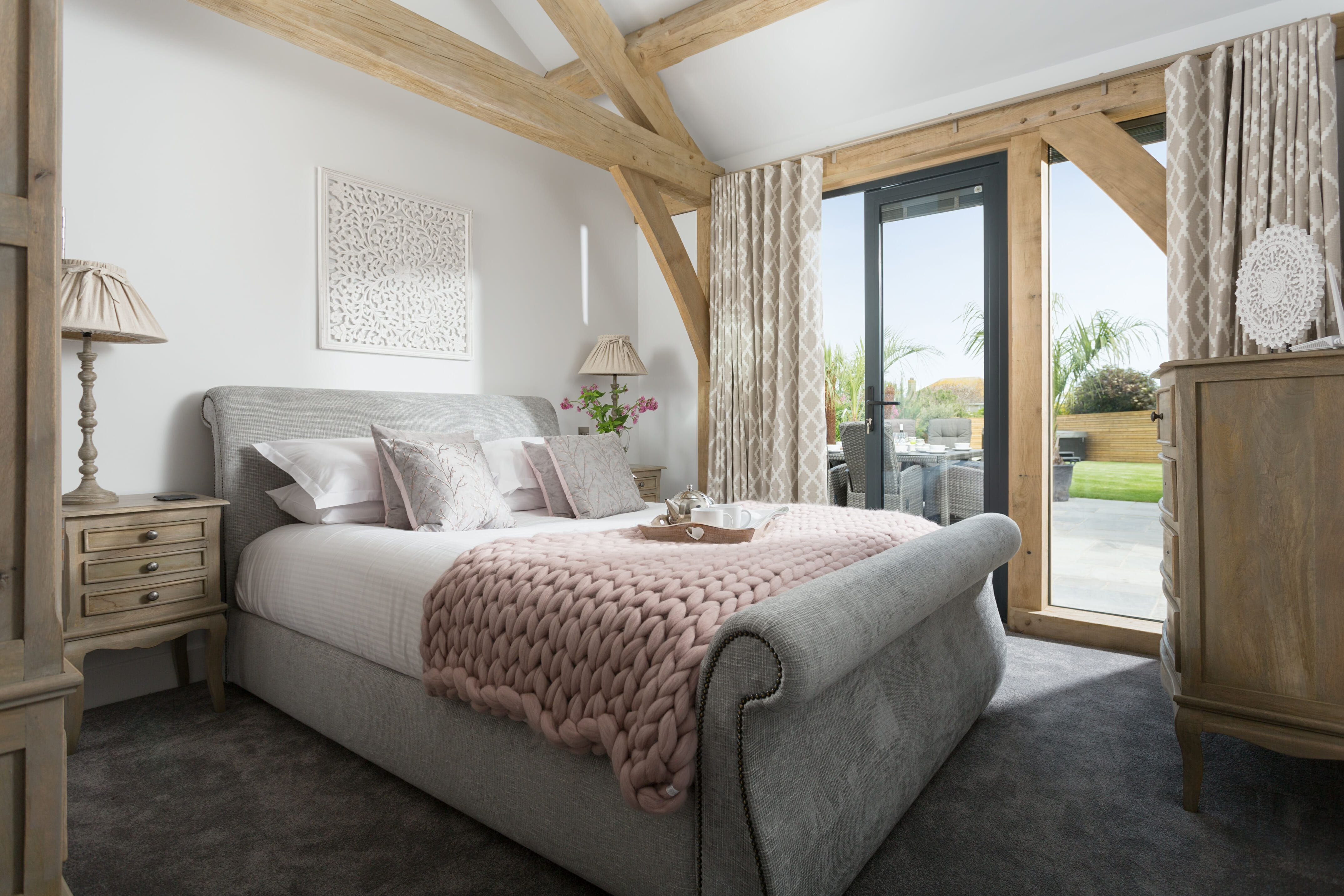 Blind Treatments The Beach Barn In Newquay Has Been Flawlessly