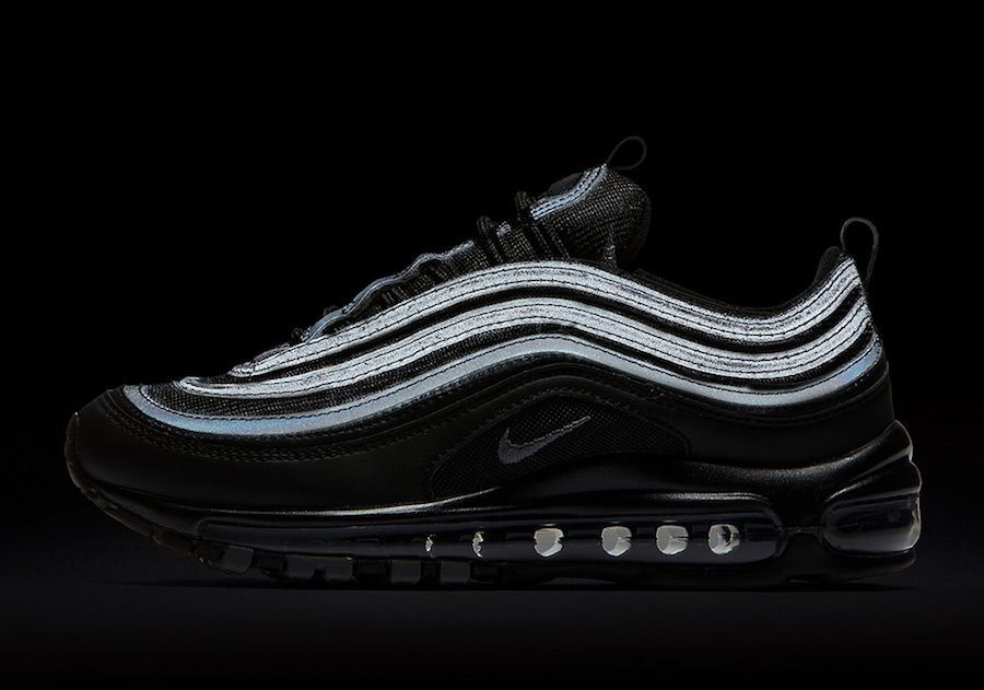 meet e3c3e f2784 Nike Air Max 97 Triple Black 921733-001
