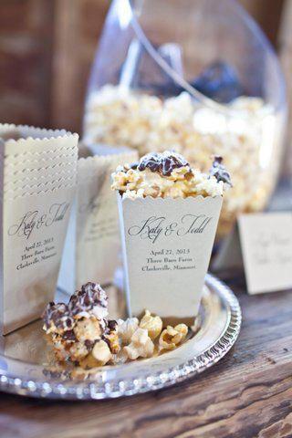 Mini boîtes de Popcorn - ils sont parfaits pour vous de