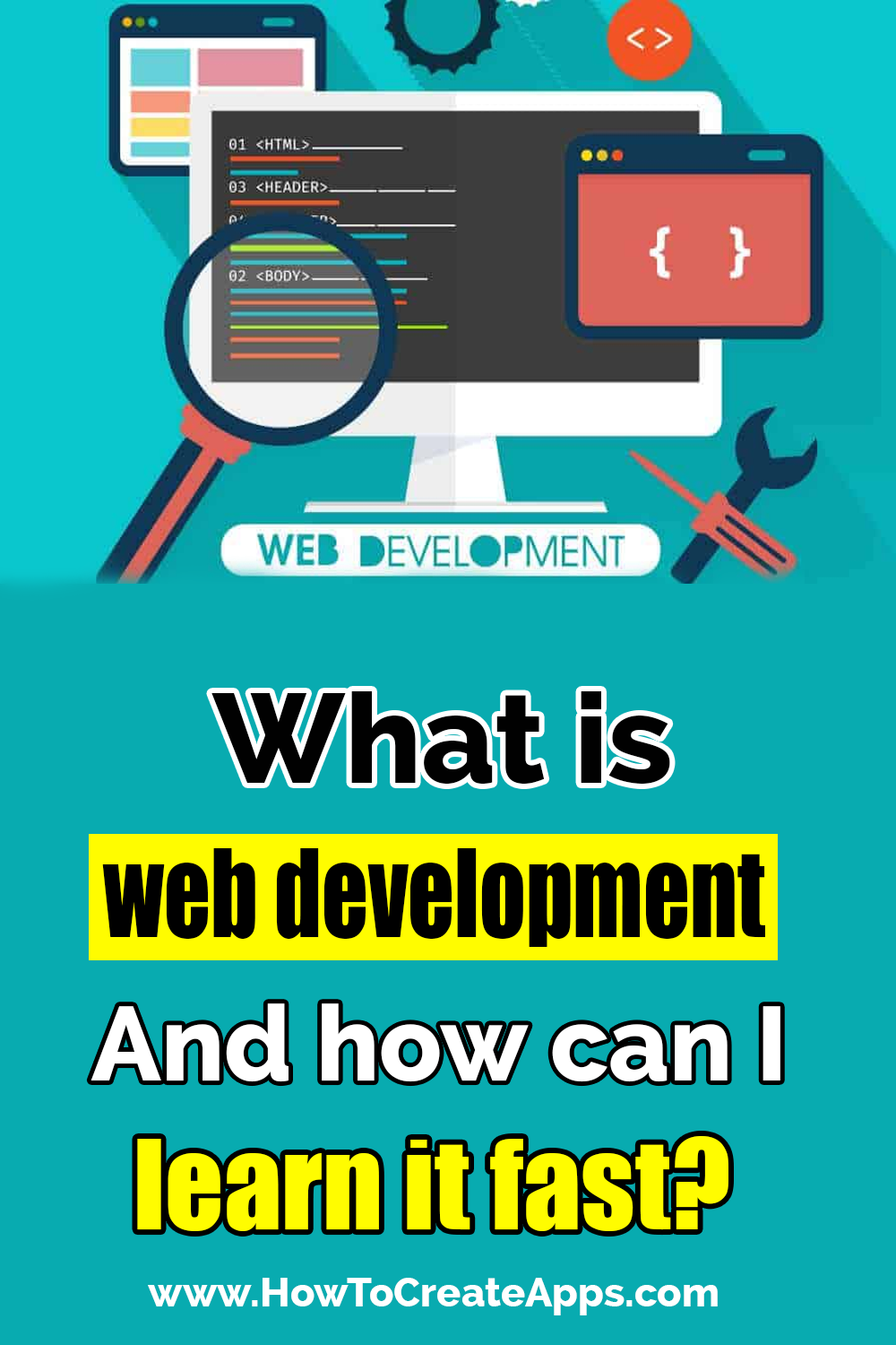 What is web development and how can I learn it fast? Web