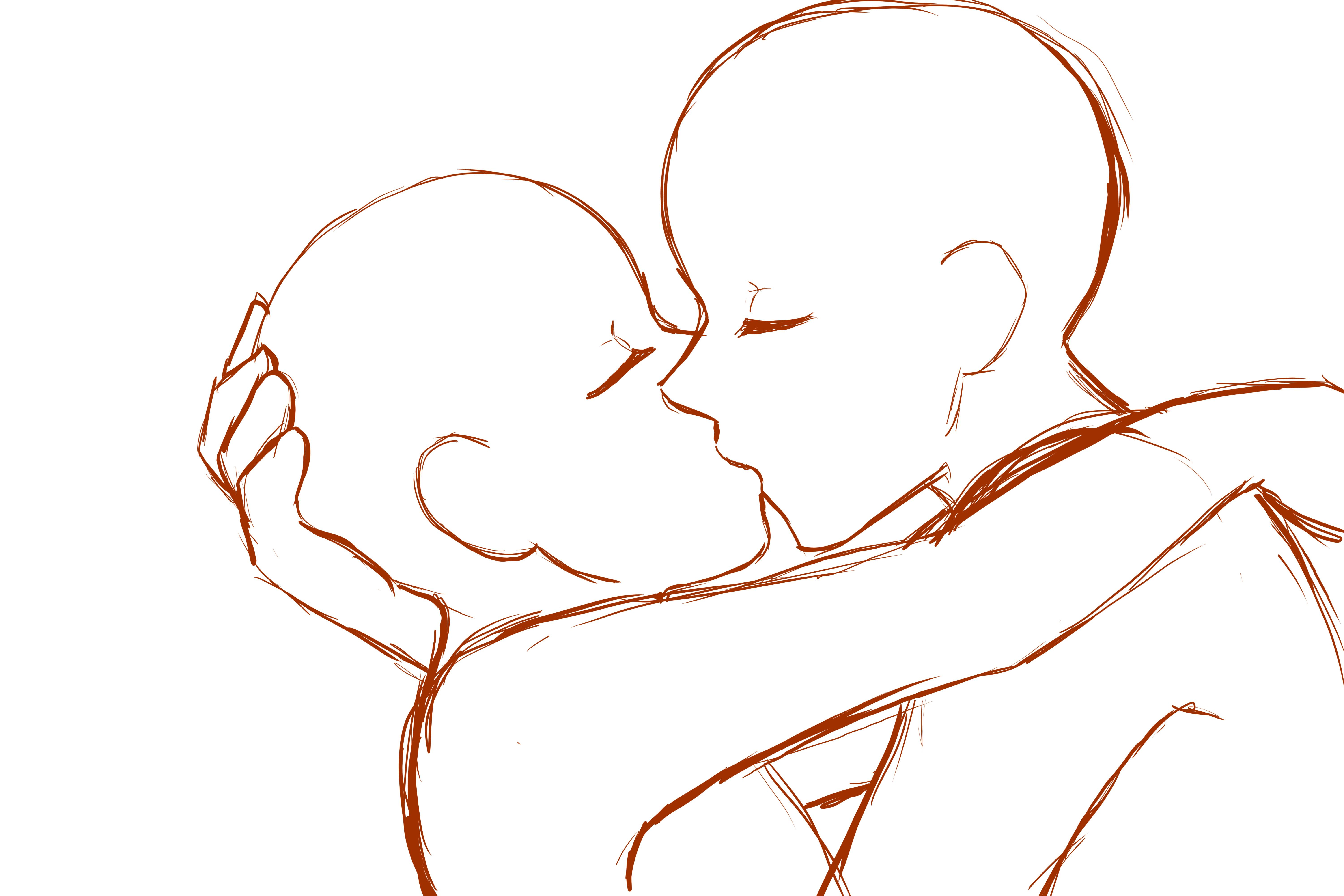 Feel Free To Use It Anime Drawings Tutorials Art Reference Photos Drawing Base Image of anime kiss drawing at getdrawings com free for personal. pinterest