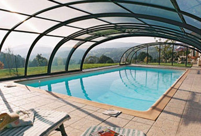 outdoor pool enclosure