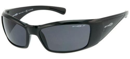 60048e54cd6fe Arnette Men Rage XL Polarized Sunglasses Black PreOwned