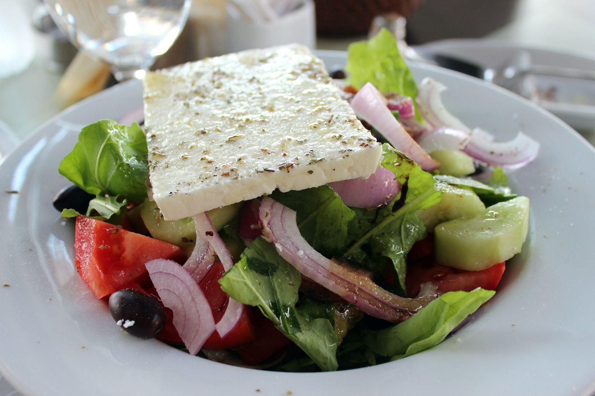 χωριάτικη σαλάτα: La importancia de una ensalada griega en mi ...