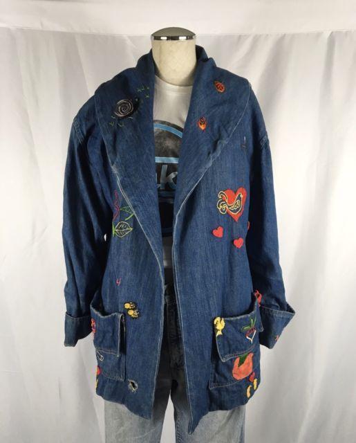Vintage denim jacket ebay