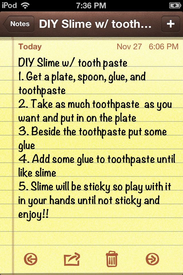 Slime Recipe With Toothpaste : slime, recipe, toothpaste, Recommend, Using, Crest, Toothpaste, Crafts, Slime,, Slime