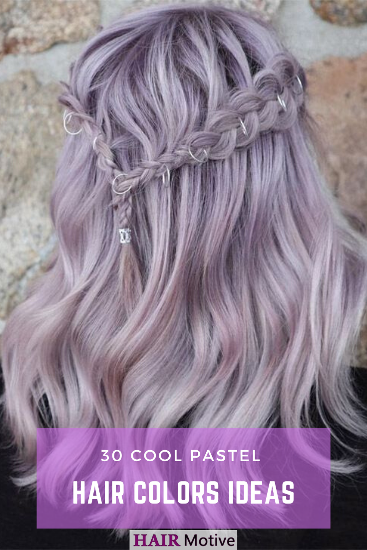 Unicorn hair. Mermaid hair. Cotton candy hair. No matter what label you  stick on it, the essence remains the… | Silver hair color, Light purple hair,  Hair pale skin