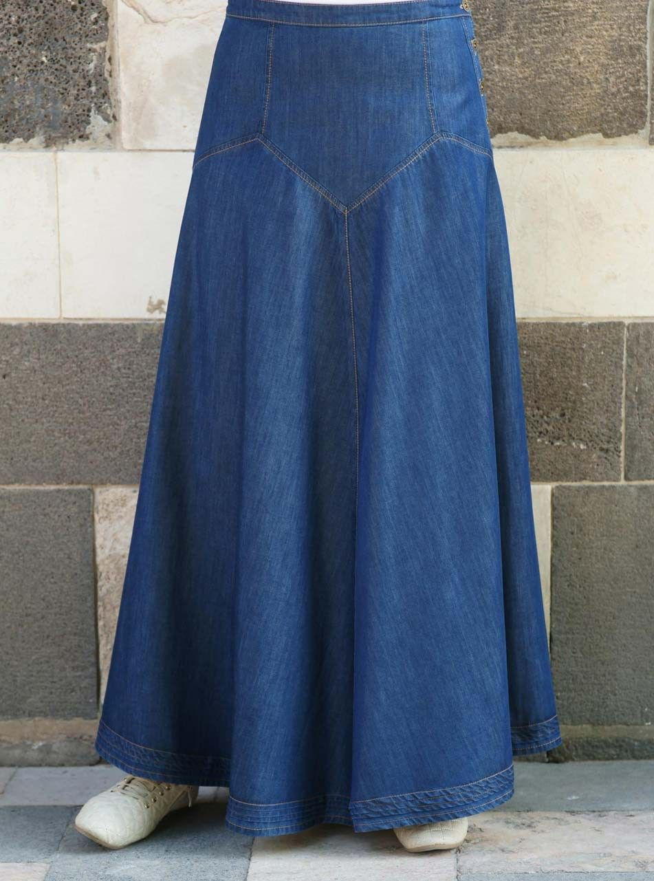 0dff16198 Denim Dream Maxi Skirt | Faldas | Faldas largas, Faldas y Faldas de ...