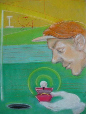 Saša Hudecová, pastel na papieri Smiem prosiť? Cena 150€. Kúpite v našej predajnej galérii Magis Art v Bratislave. Viac na www.magis.sk