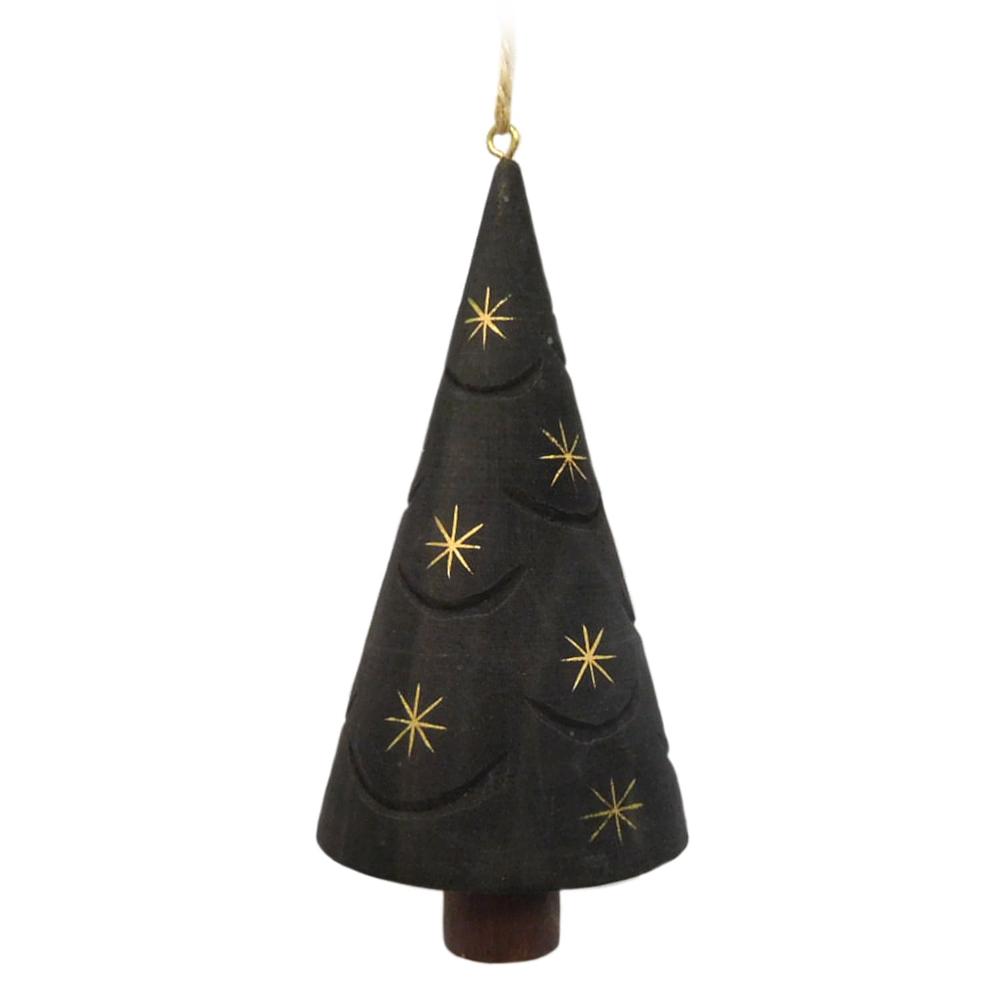 St Nicholas Square Wood Tree Ornament Wood Tree Tree Ornaments Ornaments
