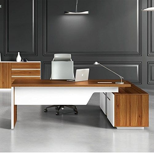 Excellent Quality Modern Manager Office Furniture Melamine Board Lightweight Simple Office Desk Office Table Design Office Furniture Design Office Table