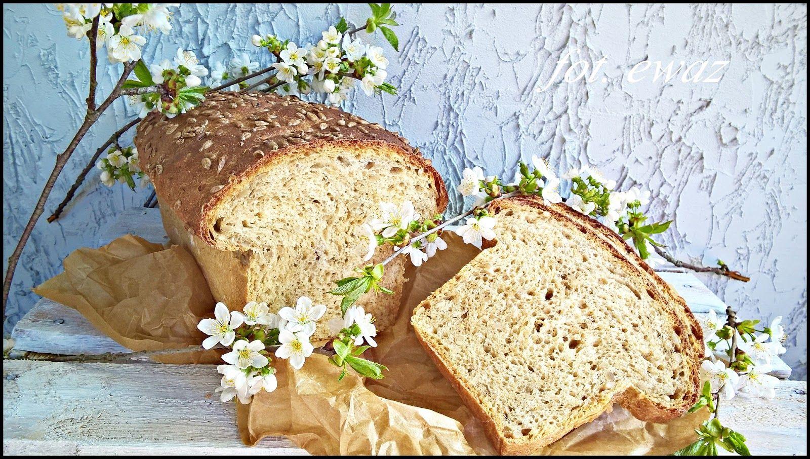 Ewa w kuchni: Chleb słonecznikowy na mące pszennej i sojowej