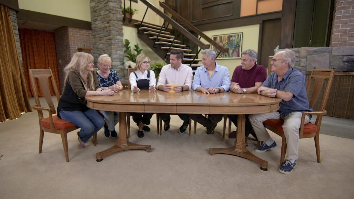 AFTERSHOW: Season 1, Episode 1- Honey, We're Home! #bradybunchhouse The Brady kids talk about the renovation to the Brady Bunch house. #bradybunchhouse AFTERSHOW: Season 1, Episode 1- Honey, We're Home! #bradybunchhouse The Brady kids talk about the renovation to the Brady Bunch house. #bradybunchhouse AFTERSHOW: Season 1, Episode 1- Honey, We're Home! #bradybunchhouse The Brady kids talk about the renovation to the Brady Bunch house. #bradybunchhouse AFTERSHOW: Season 1, Episode 1- Honey, #bradybunchhouse