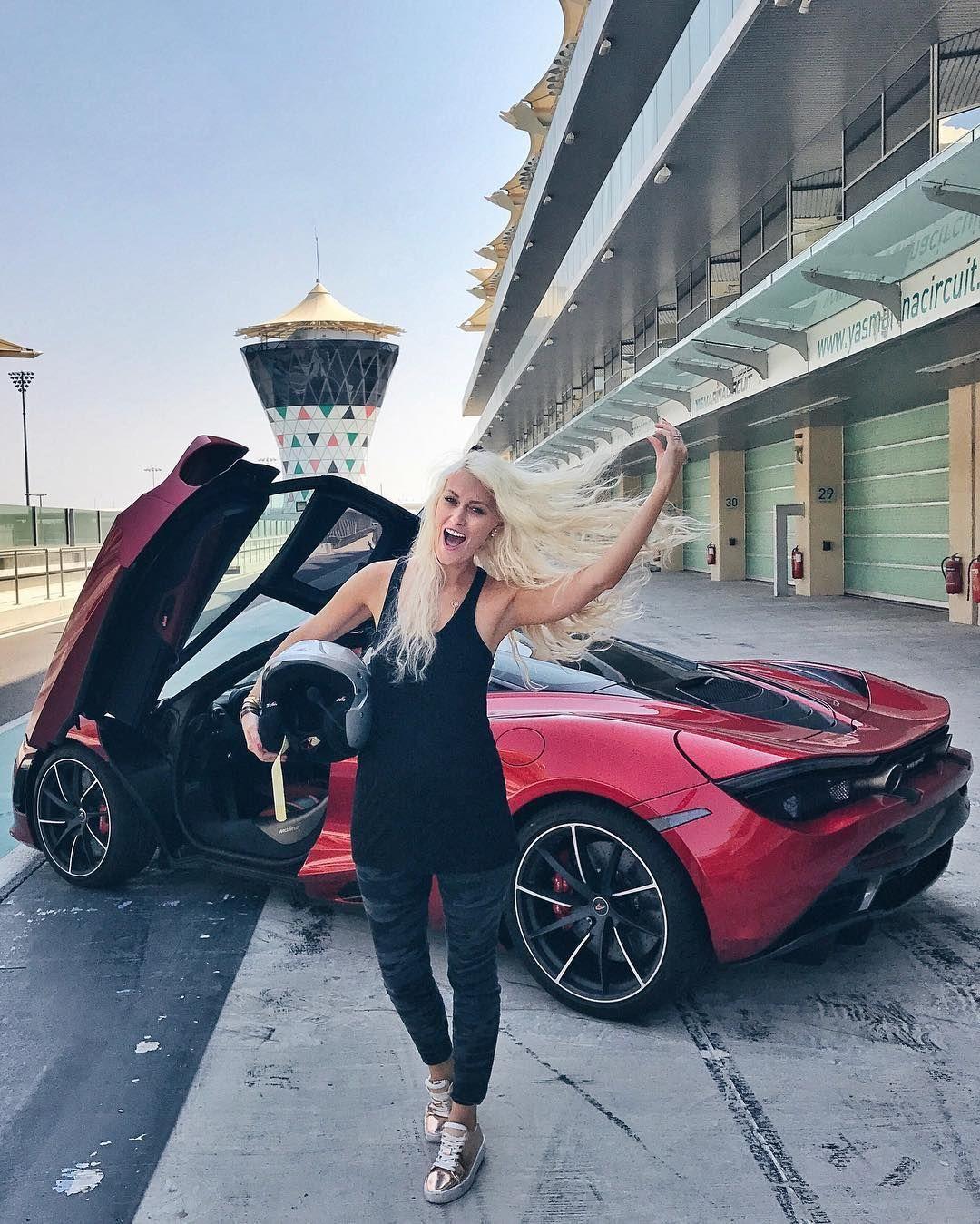 Super Car Blondie In 2020 Super Cars Car Girls Pretty Cars