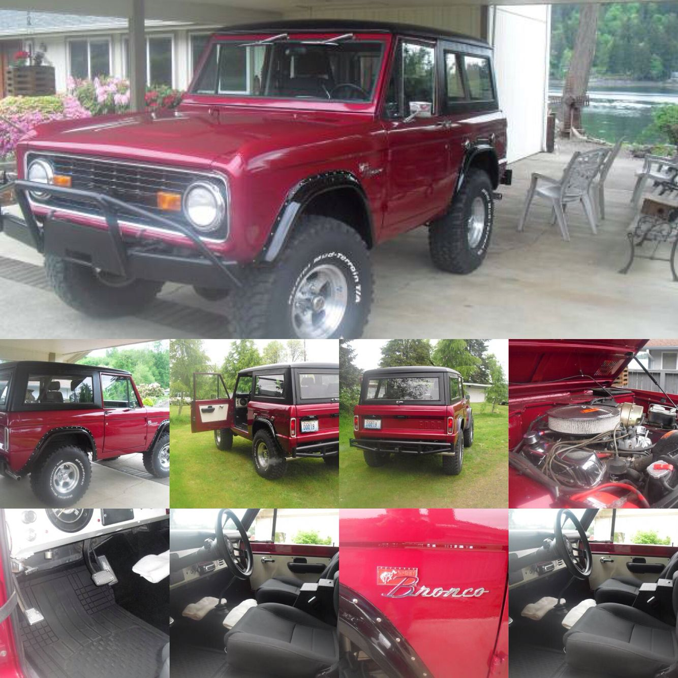 K A Beautiful  Ford Bronco  Auto Trans X